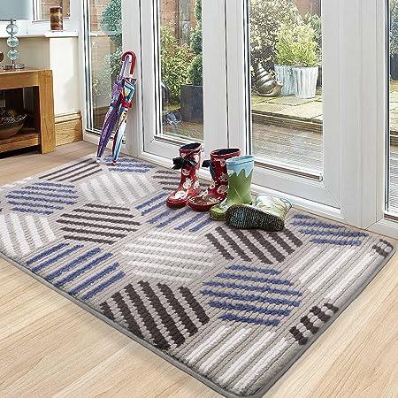 """Color G Indoor Door Mat,Super Absorbent Rugs for Entryway Front Door Mat, Non Slip Washable Resist Dirt Entry Rug 32""""x48"""""""