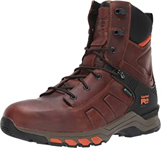 "Timberland PRO Men's Hypercharge 8"" Soft Toe Waterproof Industrial Boot"