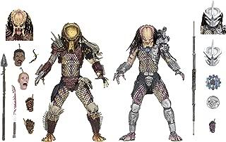"NECA - Predator - 7"" Scale Action Figures - Ultimate Bad Blood vs Enforcer 2-Pack"