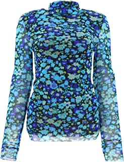GANNI Luxury Fashion Womens T2421AZUREBLUE697 Light Blue Sweater   Fall Winter 19