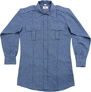 french blue police shirt