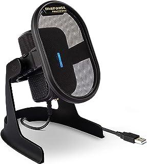 マランツプロ USB コンデンサーマイク ゲーム実況 テレワーク オンライン会議 配信 録音 宅録 単一指向性Mac PC対応 Umpire