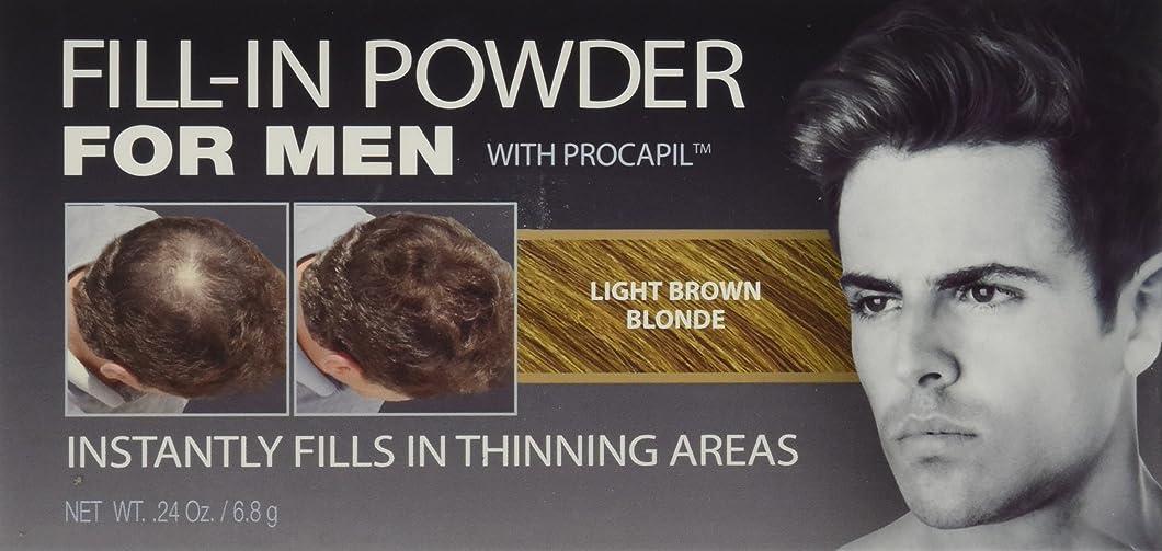 オールチョップ堂々たるCover Your Gray Fill-In Powder for Men Light Brown/Blond (並行輸入品)