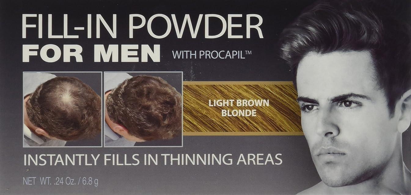 浅い鬼ごっこ弾薬Cover Your Gray Fill-In Powder for Men Light Brown/Blond (並行輸入品)