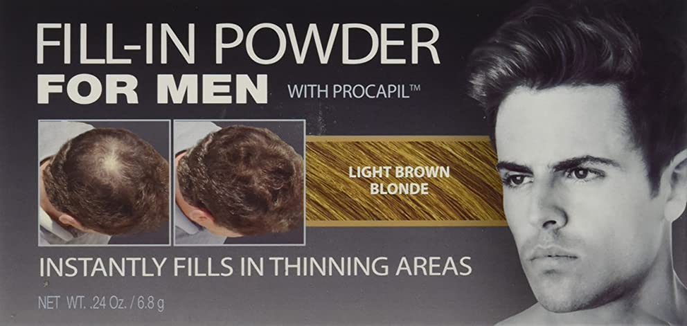 ニッケル数先住民Cover Your Gray Fill-In Powder for Men Light Brown/Blond (並行輸入品)