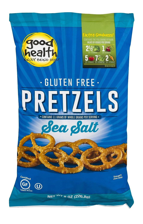 Good Health Gluten Free Pretzels Cheap mail order specialty store Sea Salt Pack Dallas Mall Bag oz. 12 8 –