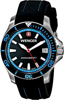 Best wenger swiss military watch blue face Reviews