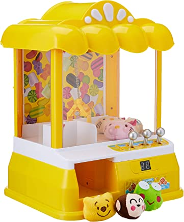 UPGRADED! Mini UFO Claw Catcher / FREE SOFT TOYS / Candy Grabber