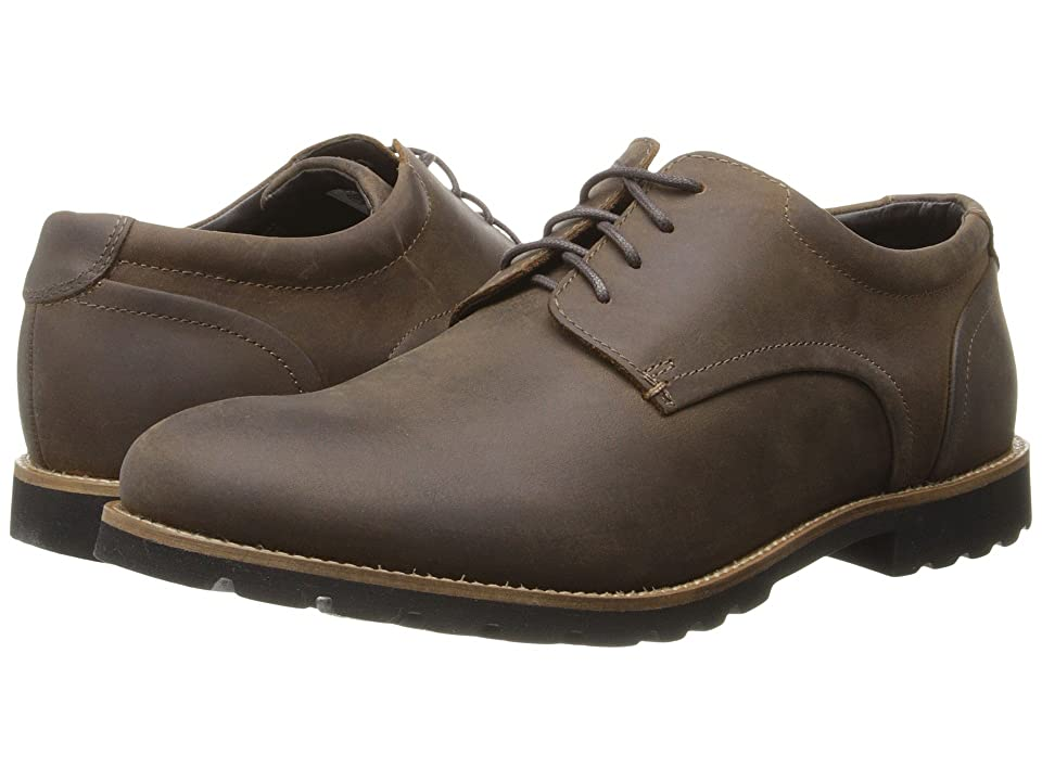 Rockport Sharp Ready Colben (Brown Oiled Leather) Men
