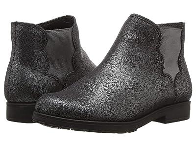 Stride Rite SR-Isabella (Little Kid/Big Kid) (Black Sparkle/Leather) Girls Shoes