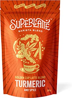 Golden Latte Blend - Turmeric Cinnamon & Ginger 200g