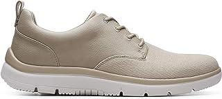حذاء برباط للرجال من كلاركس، مقاس 9.5 UK, (بني), 9.5 UK