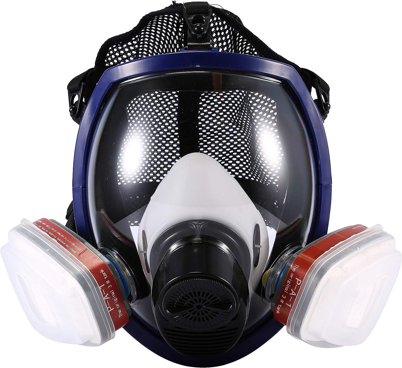Bo/îte de Filtre ENJOHOS Couverture des Yeux Couverture de la Tete Face Cover Bricolage S/écurit/é /Équipement et mat/ériel de s/écurit/é