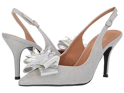 J. Renee Denyell (Silver Glitter) High Heels