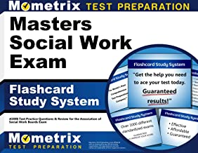 Masters Social Work Exam Flashcard Study System: ASWB Test Practice Questions & Review for the Association of Social Work Boards Exam (Cards)