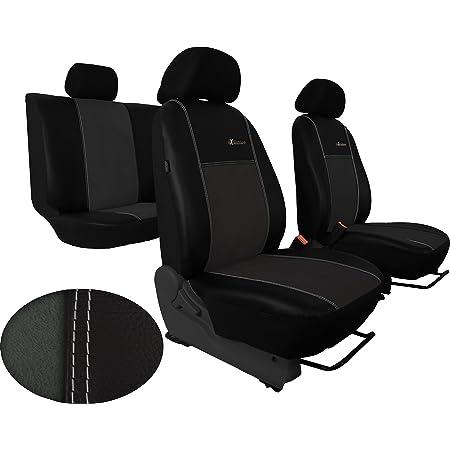 Pokter Alc T5 Multivan 7 Sitzer Maßgefertigte Sitzbezüge Exclusive Dunkelgrau Auto