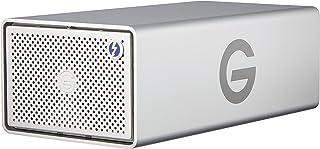 G-RAID met verwijderbare Thunderbolt 3. 12TB zilver