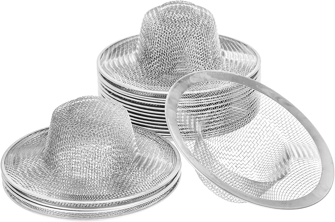 Kingrol 20 Pack 4-1 2 Inch Stainless Slop Save money Sink Strainers Steel Free shipping