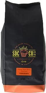 San Diego Coffee Organic House Blend Medium Roast, Whole Bean, 5-Pound Bag