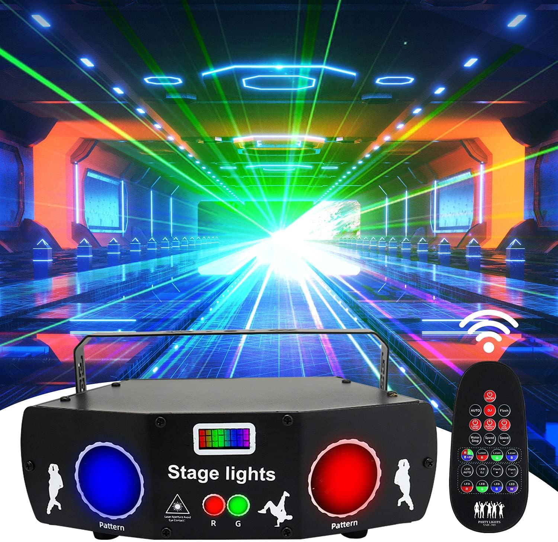 AMKI Party Lights 5 Len 3 Sales of SALE items from new works in Limited price Disco Strobe DJ Light Proj 1
