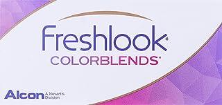 Freshlook Colorblends Brown (-0.75) - 2 Lens Pack