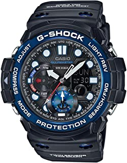 G-Shock Master of G Smoke Dial Resin Quartz Men's Watch GN1000B-1A