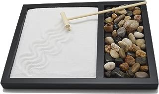 Sand & Rock Zen Garden Kit with rake by Tatum & Shea