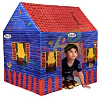 OPINA Hut Type Tent House For Kids Girls & Boys Upto 8 Years Old (Made in India) KPTH31