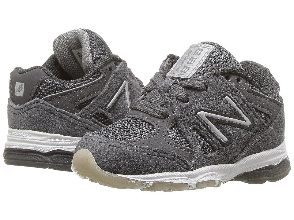 New Balance Kids KJ888v1I (Infant/Toddler) (Magnet/Marblehead) Boys Shoes