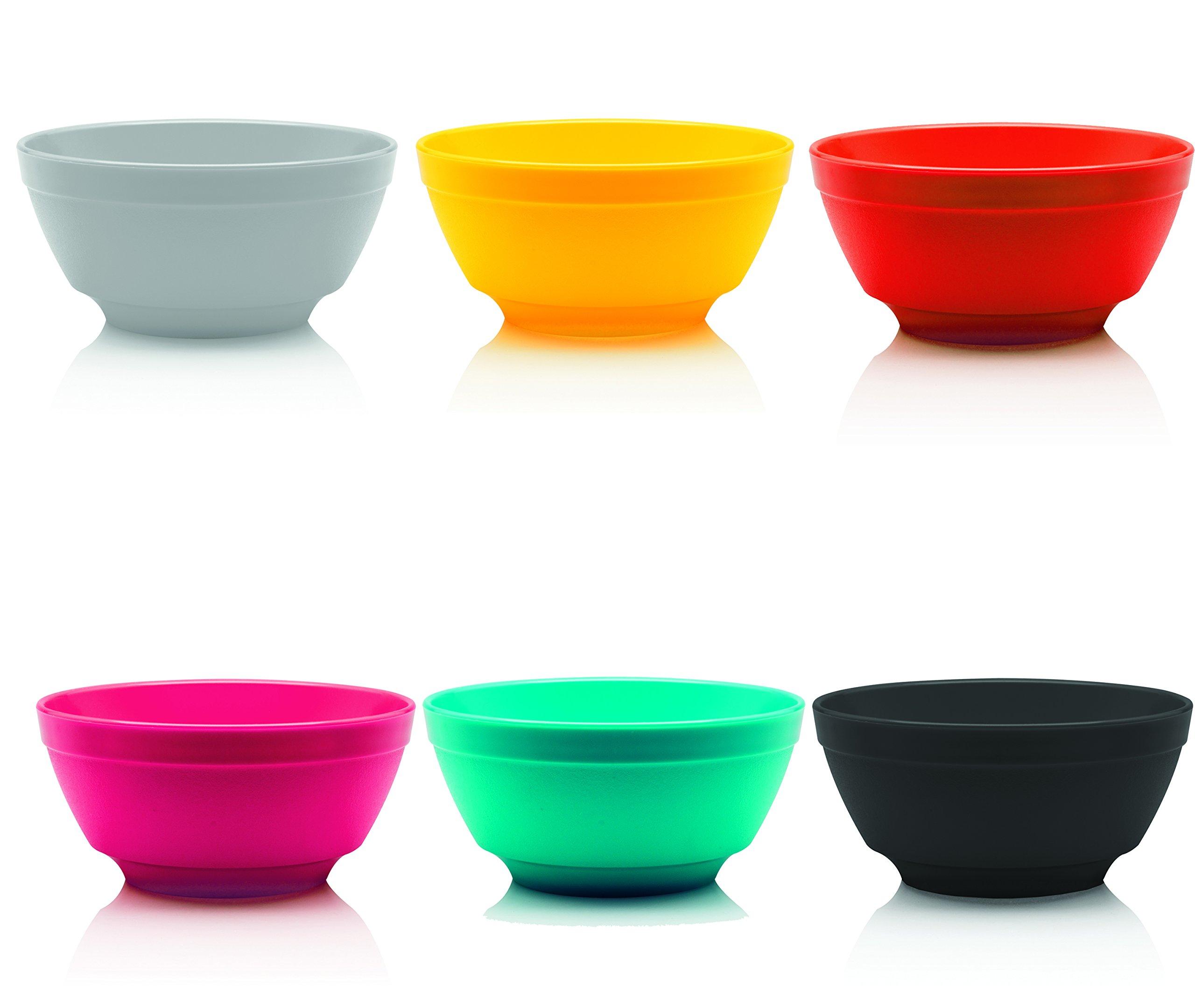 Red Bowl Ou Premium Design SS 5630-VM Sphere Set of 6-22 oz