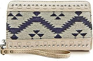 Montana West Aztec Wristlet Wallet- 3 Colors