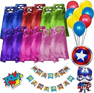 Best kids superhero shirt with cape Reviews