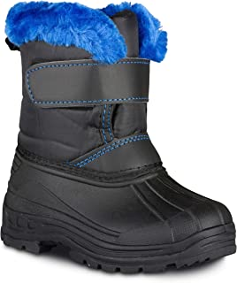 Chillipop Colored Insulated Snow Boots for Boys, Girls, Little Kids