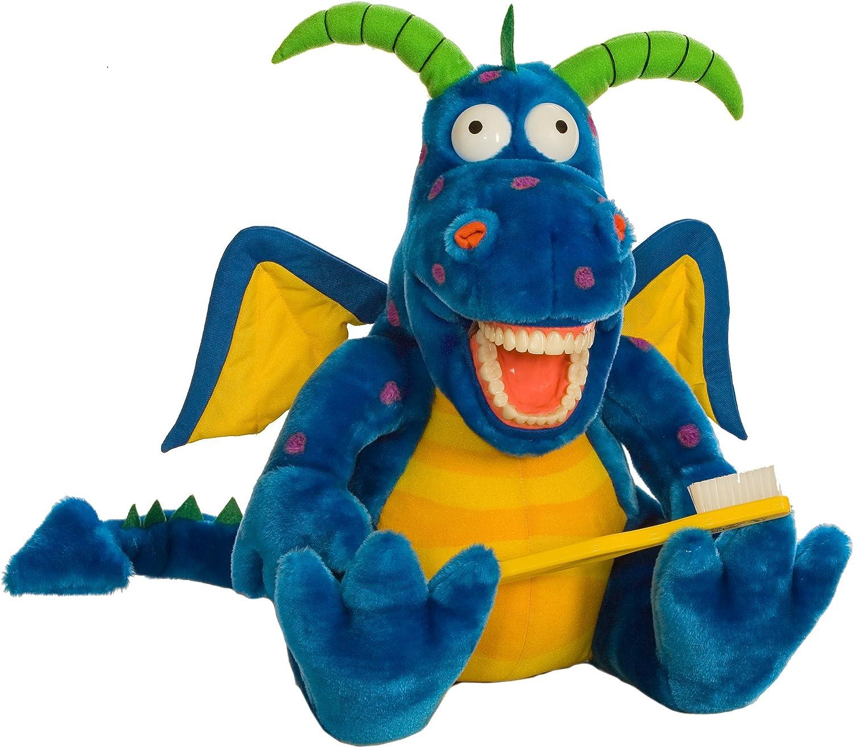 Oral Health Presentation Puppet Magi Dragon Educational Plush