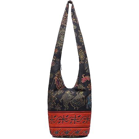 Sling Bag Floral Messenger NEW Crossbody Cross Body Handbag Backpack Check Hobo