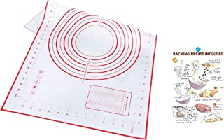 Baking Mat 60x40 cm, High Quality, Dough Mat, Chef's Choice Food Grade Silicone With Fiberglass Pad Sheet, Rolling Dough C...