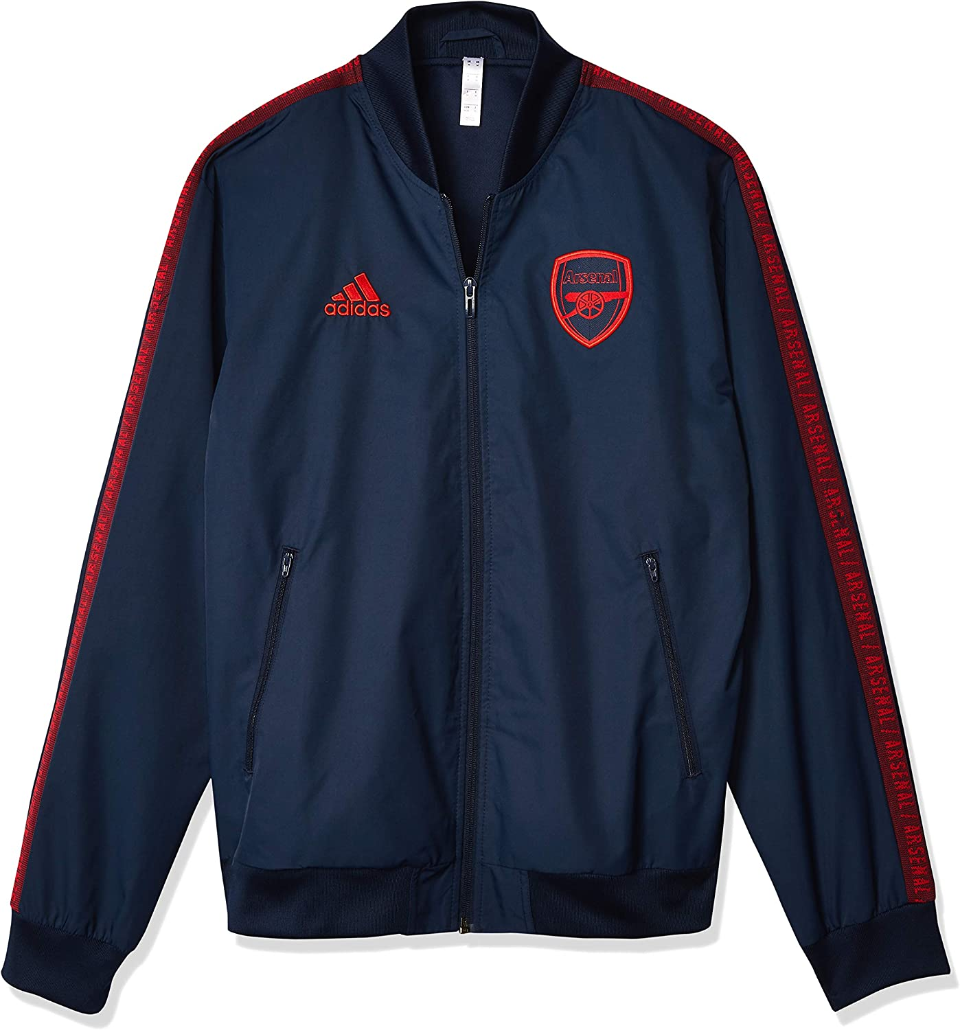 All stores are sold adidas Arsenal Anthem Blue Max 68% OFF Jacket 2019-20 S