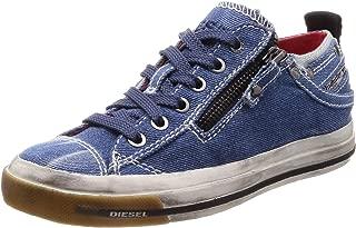 Diesel Womens Y01829P2181T6144 Magnete Expo-Zip Low W - Shoes Blue Size: