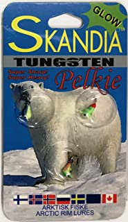 Skandia Pelkie Tungsten Sz 14 Glow Fishing Products
