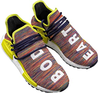 "OneTo Pharrell x NMD ""Human Race"" Sports Shoes Casual Shoes Running Shoes Comfortable Light and Breathable Unisex Shoes"