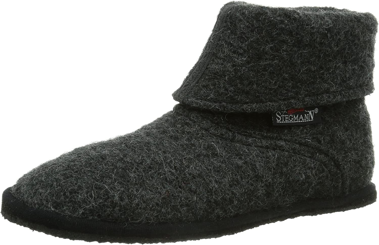 Stegmann Womens Hut shoes Anthracite