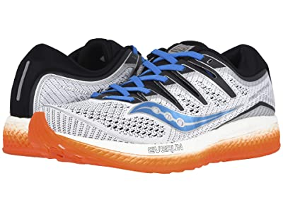 Saucony Triumph ISO 5 (White/Black/Orange) Men