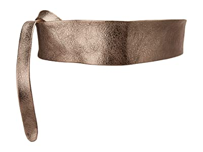 ADA Collection Obi Classic Wrap Belt (Pewter Shimmer Combo) Women
