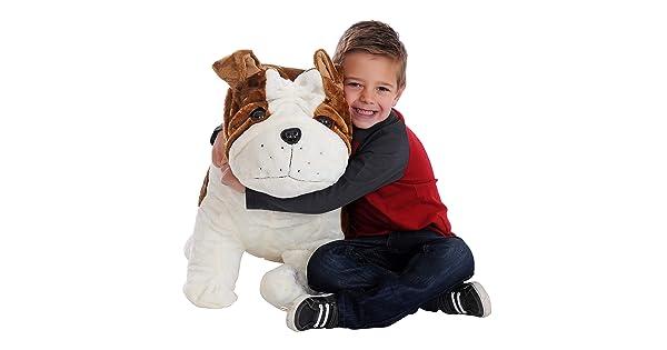 26 Inch Lifelike Soft Inflatable Puppy Pals Toy 2 Feet Tall CUDDALICIOUS Animal Plush Puppy Dog