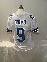 tony romo autographed jersey
