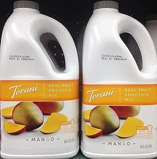 Torani Real Fruit Smoothie Mix MANGO 64oz (2 Pack)