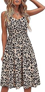 Women's Summer Casual Dress Beach Party Dresses (NO.11)