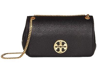 Tory Burch Chelsea Evening Bag (Black) Handbags