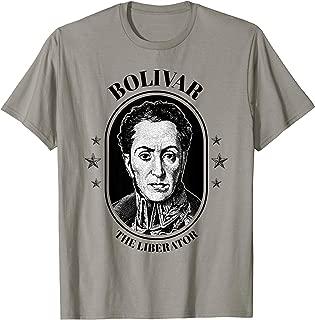 Simon Bolivar Shirt South America Venezuela El Libertador T-Shirt