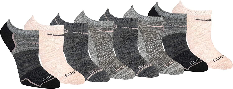Saucony Women's Performance Super Lite No-show Athletic Running Socks Multipack